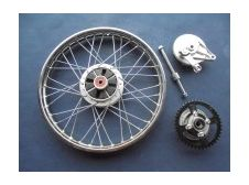 Honda C90 Rear Wheel Complete with spindle