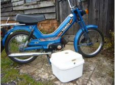 1984 Tomos Moped 49cc in Blue 2 Speed (low mileage, 4 miles since MOT, some tax left)