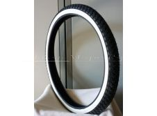 Classic Whitewall Moped Tyre 2.25-19