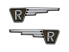 Raleigh RM6 Runabout Sweeping R Fuel, Gas, Petrol Tank Label Transfers (Pair)