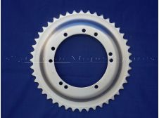 Rear Wheel Sprocket 44 Teeth, 94mm diameter, 10 Holes for Mobylette, Motobecane, MBK, Raleigh, Peugeot Moped