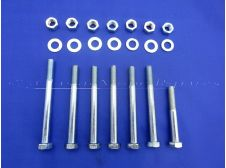 AV10 Engine Crankcase Nut and Bolts Set for Mobylette, Raleigh Mopeds 7mm